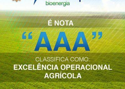 Nota BEVAP AAA Excelencia Operacional